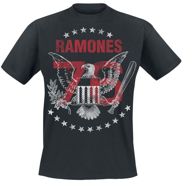 Tour 1976 - T-Shirt by Ramones