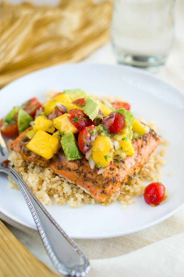 Sep 07, 2015Blackened Salmon with Mango Avocado Salsa Delicious Meets HealthyMain Dishes10 Comments