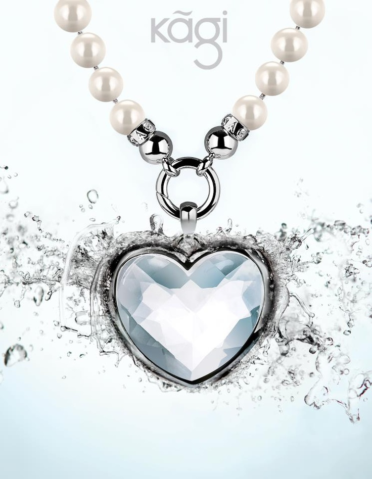 #Kagi Jewellery. Love this heart pendant