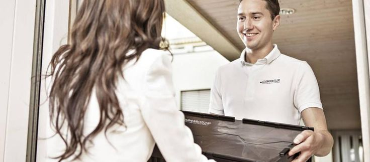 Wash and fold laundry service:  Cosmobutler laundry service Basel
