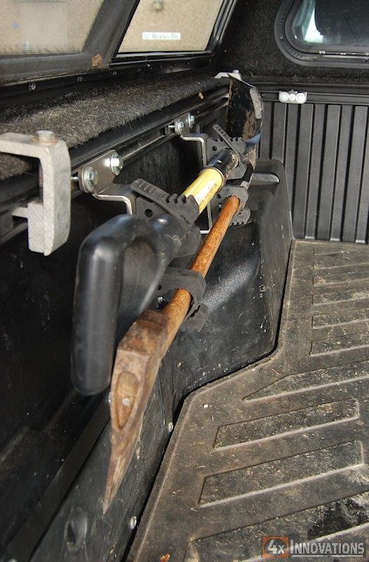 Double Quick Fist Mount for All Toyota Bed Rails