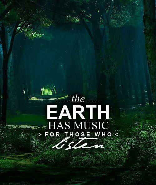 "Earth Witch: #Earth #Witch ~ ""The Earth has music for those listen."""