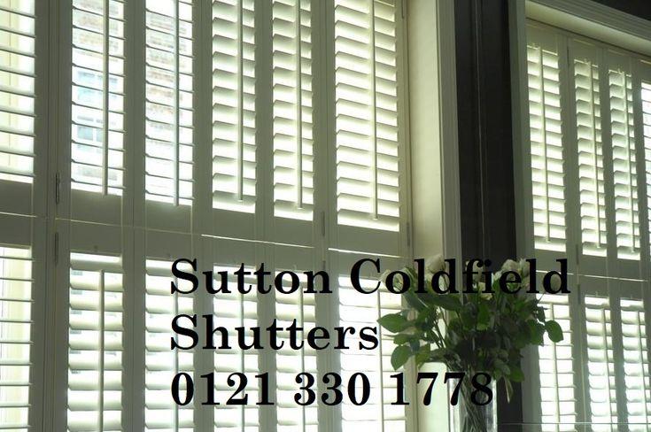 Sutton Coldfield Plantation Shutter Example Photo