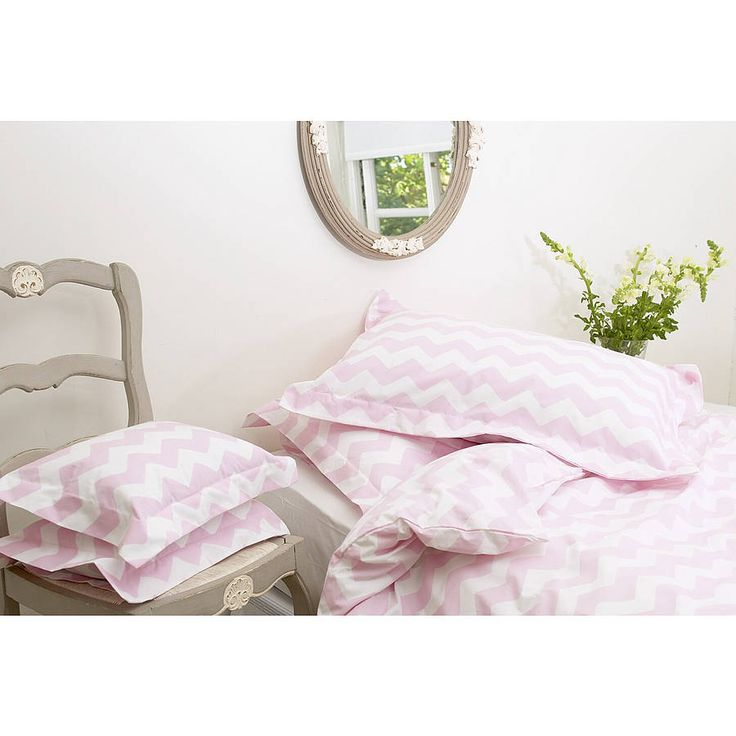 £45 Zig Zag Duvet Cover Beautiful Zig Zag Duvet Covers. Made In England From a 200 Thread Count Cotton Percale