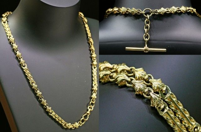 46.6 grams 9K GOLD CHAIN L420 gold chain , gold jewelry , chain