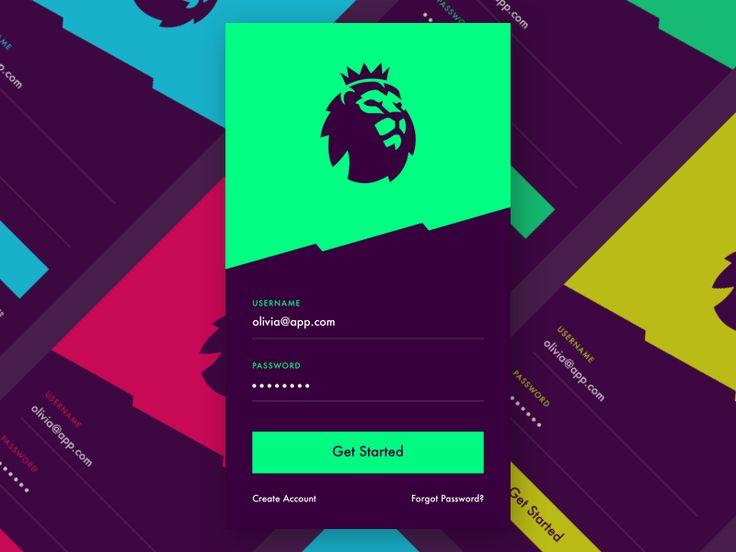 Premier League sign in Premier league logo, Sports