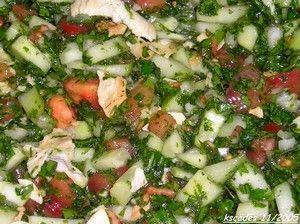 insalata libanese