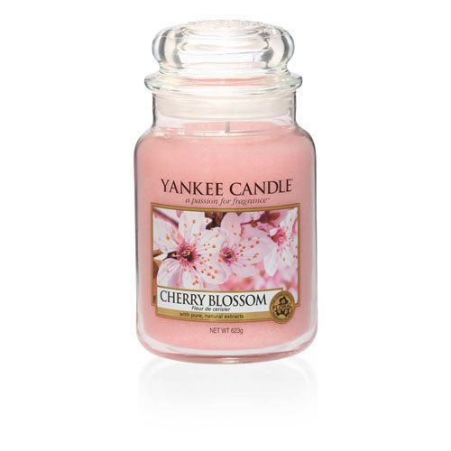 456 best my yankee candles images on pinterest yankee candles cherry blossom an enchanting armful of springs freshest blooms that turns any room pink and sciox Images