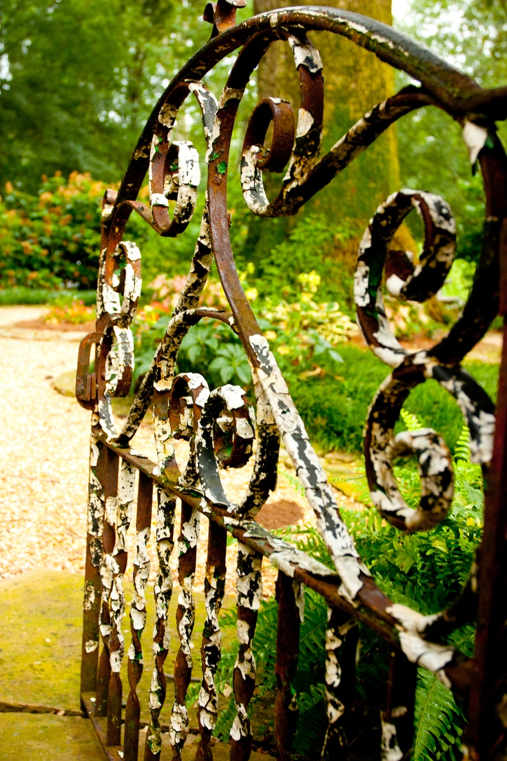 Pin antique garden gates in wrought iron an art nouveau style on - Find This Pin And More On Iron