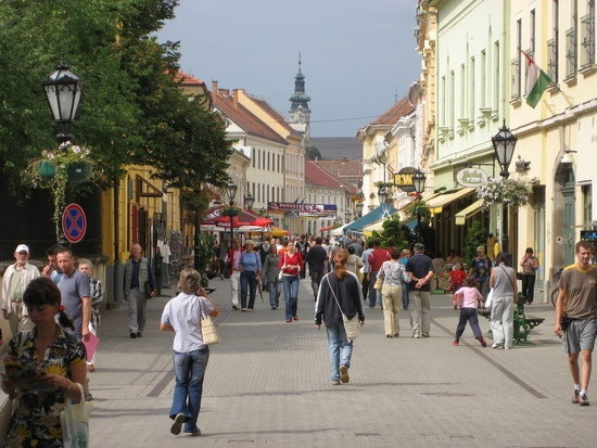 Eger. Hungary.