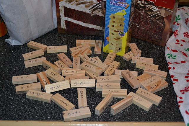 Classroom Elf Ideas ~ Quot get to know you jenga write a question on each block