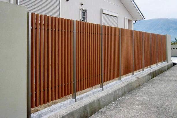 エクステリア フェンスの施工例2 HAC34K