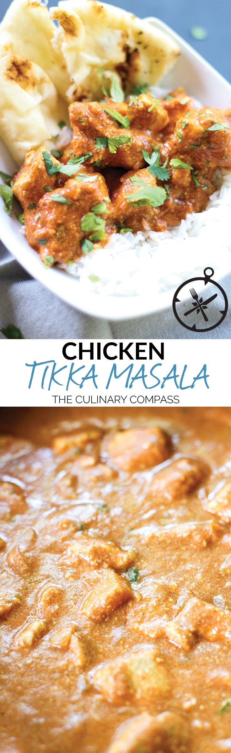 This Chicken Tikka Masala is a flavorful and easy meal even for weeknights!