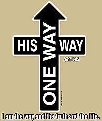 His way one way Christian T-shirts from $7.99 to $9.99 Psalm 119:9-16 (NIV) 9 How can a young man keep his way pure? By living according to your word. 10 I seek you with all my heart; ado not let me stray from your commands. a 11 I have hidden your word in my heart athat I might not sin aagainst you. 12 Praise be ato you, O LORD; teach me ayour decrees. a 13 With my lips I recount all the laws that come from your mouth. a 14 I rejoice in following your statutes aas one rejoices in great ...