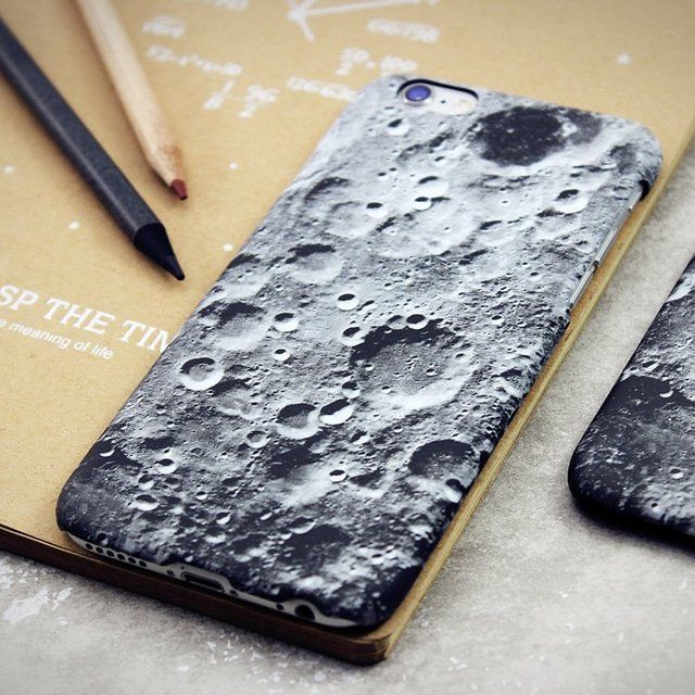 (1) Fancy - Moon Surface iPhone Case