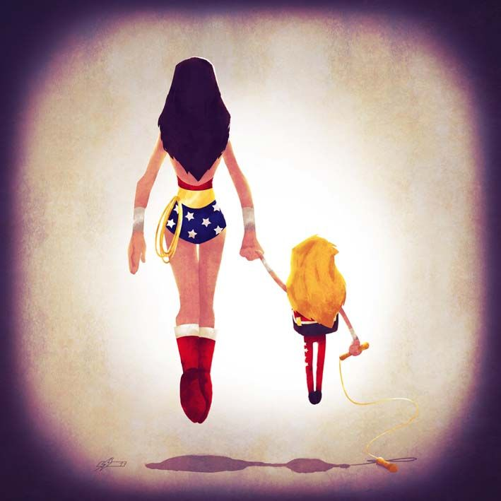 You are Wonder Woman. Every day.