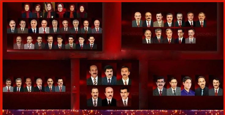Pictures of the 52 PMOI members killed by the Iraqi and Qods forces on September 1, 2013.
