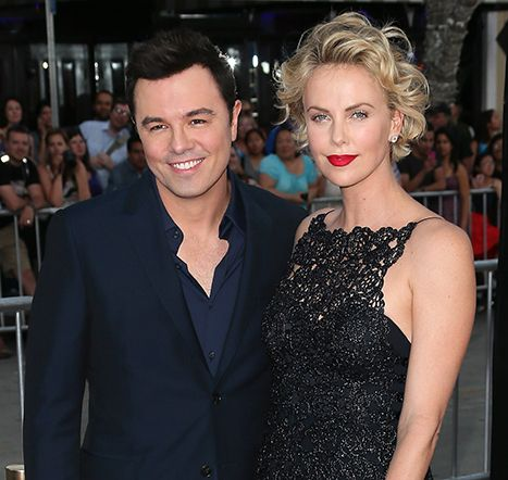 Seth MacFarlane Throws Holiday Bash With Guests Like Charlize Theron.