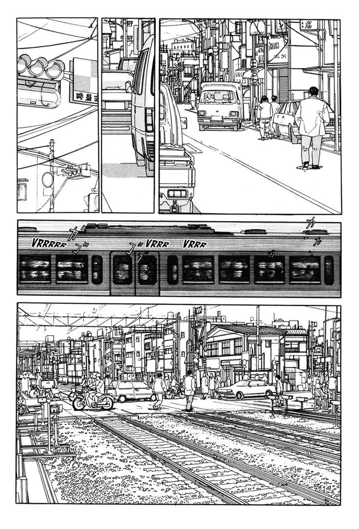 "From ""Aruku Hito"" (Walking Man), by Jiro Taniguchi"
