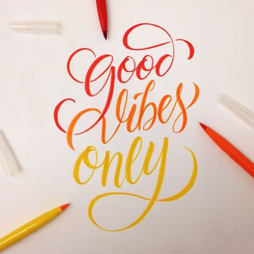 """Good Vibes Only"" by LanoStudio https://www.facebook.com/lanostudiohttps://instagram.com/lanostudio/"