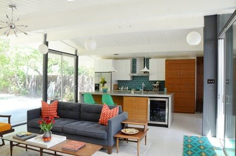 Karen and John wanted to raise their family in not just any mid-century modern home, but one specifically designed by architect Joseph Eichler. This one was a perfect fit!