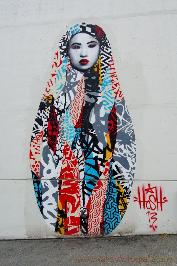 Street Art Stavanger obra de HUSH                                                                                                                                                                                 Más