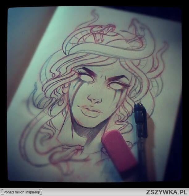 medusa tattoo idea Tattoo Ideas Tattoo Sketches Sick Tattoo Tattoo ...