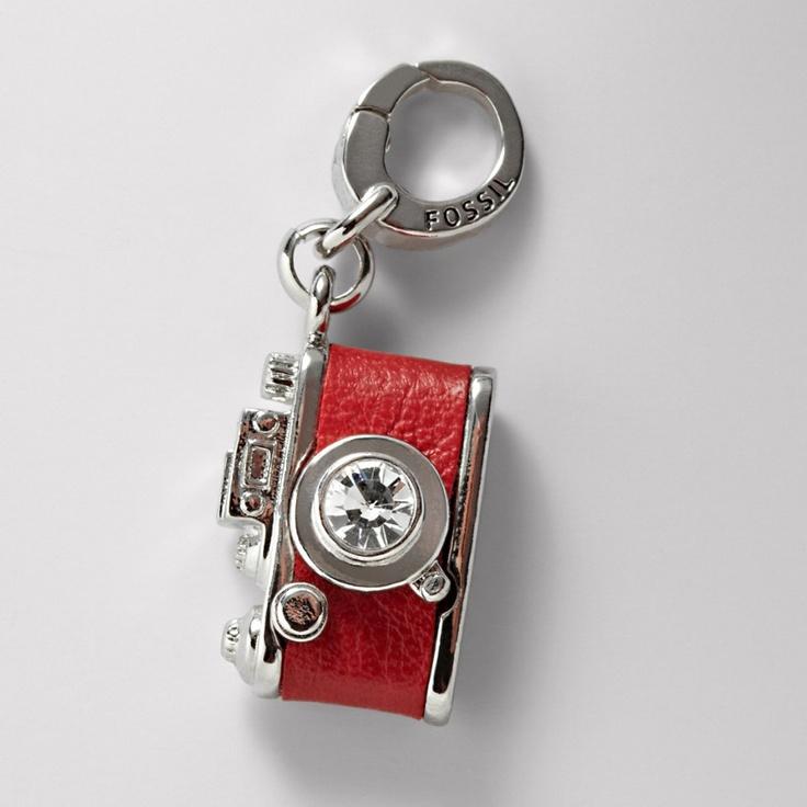 FOSSIL® Jewelry Charms :Women Camera Charm JA5623