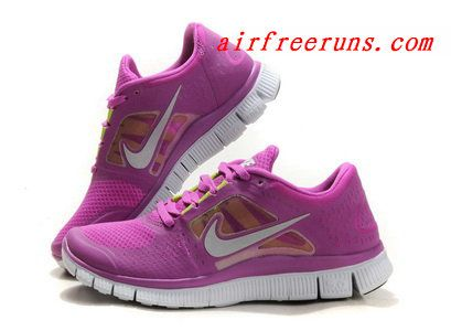 brand new 914eb a957a ... nike free run 3 womens purple red 2013 running shoes click image to  close