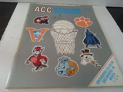 Autographed 1978 Silver Anniversary ACC Basketball Tournament Program | #919635866