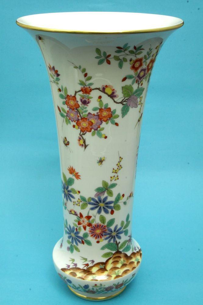 """Meissen Porzellan: """"Höroldt Vase"""", 42 cm, 1. Wahl, NEUWERTIG! Mint! Porcelaine"""