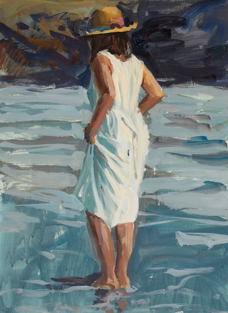 Paint quick figures in just 20, 30, or 40 minutes! #acrylicpainting