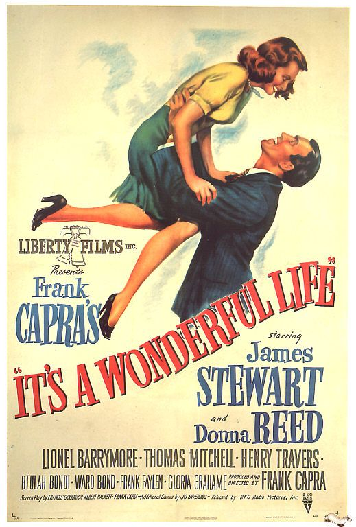 One of my favorite movies: Movie Posters, Classic Movie, Life 1946, Christmas Eve, Christmas Movie, Holidays Movie, Favorite Movie, James Stewart, Wonder Life