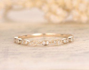 Trouwringen diamant eeuwigheid Band Eternity Ring door kilarjewelry
