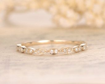 Trouwringen diamant eeuwigheid Band Eternity Ring door kilarjewelry