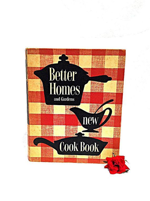 1000 images about vintage cookbooks on pinterest - Vintage better homes and gardens cookbook ...