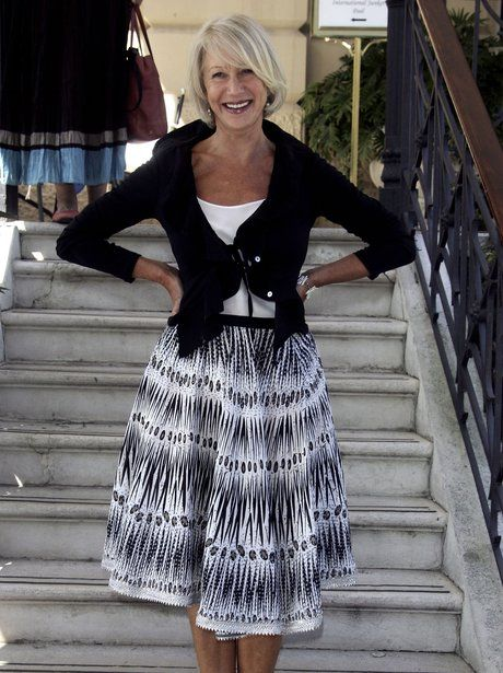 A dressed down Helen Mirren shows why she's film royalty at this photocall for The Queen in 2006.