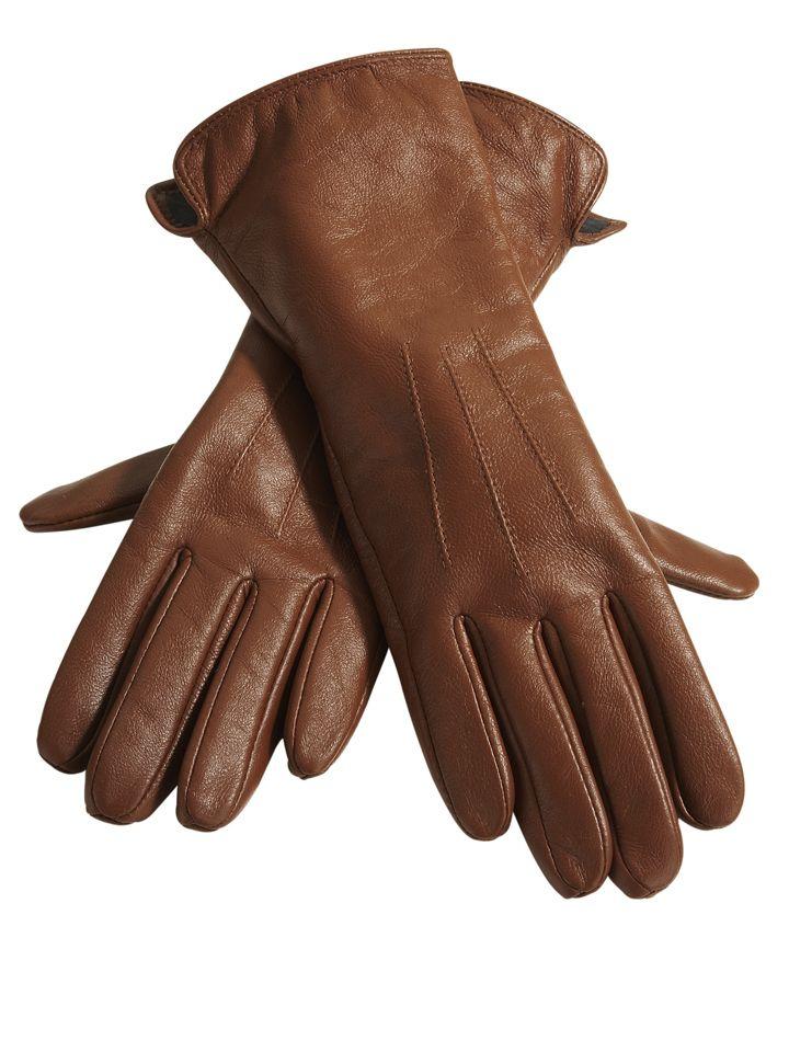 Handschuhe von heine @aboutyou aus Lammleder mit Innenfutter.