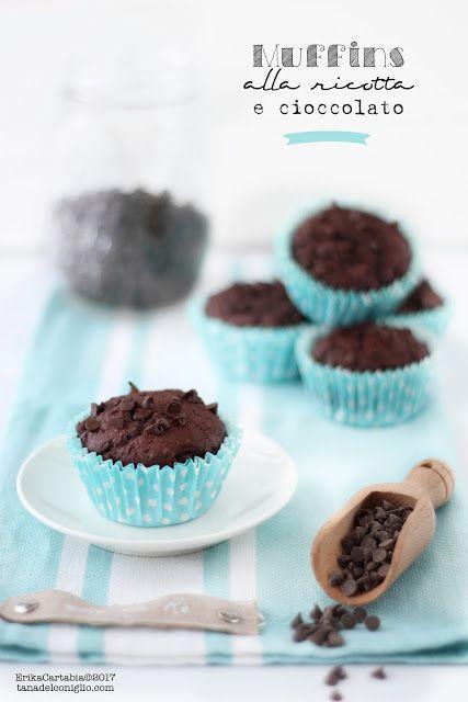 La tana del coniglio: Muffins alla ricotta e cioccolato