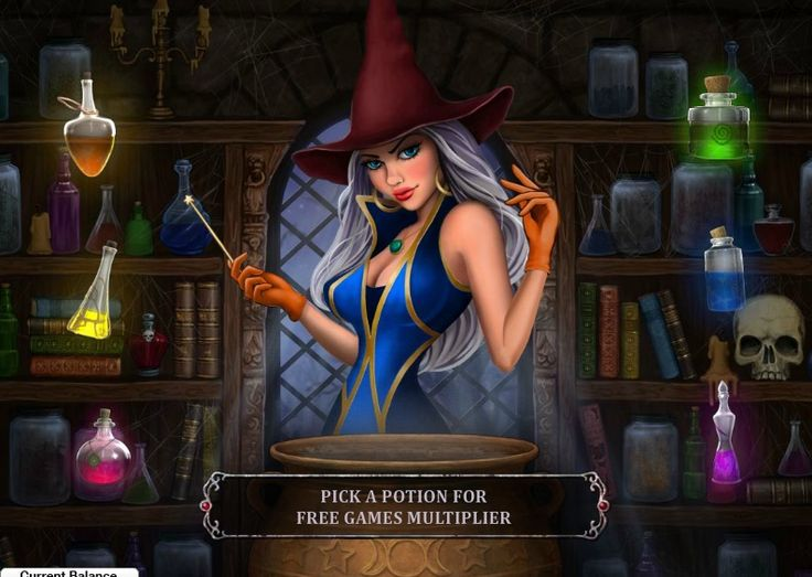 Play exciting games with witches and get free welcome package up to $1000 at http://casinoslotgames.ca