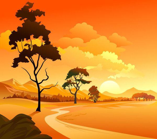 Cartoon landscape 03