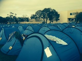 Over 1000 Tents