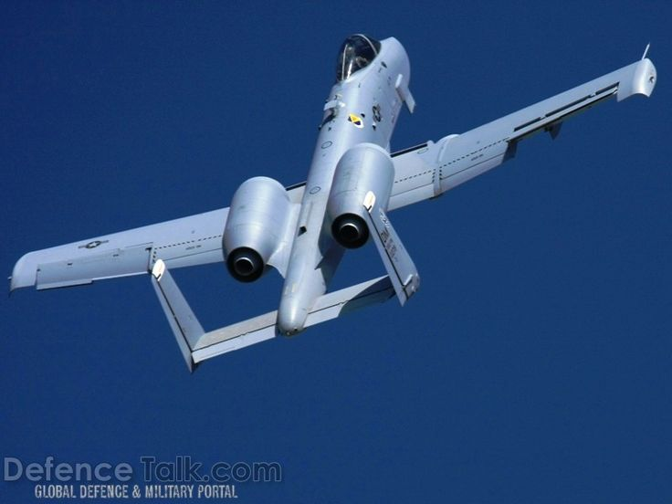 USAF A-10 Thunderbolt II Close Air Support Aircraft - Military Pictures - Air Force Army Navy Missiles Defense