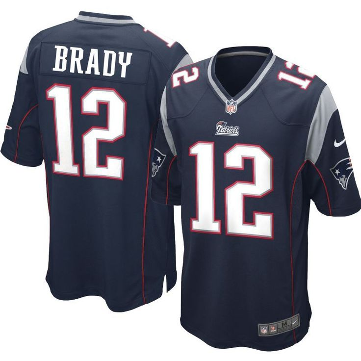 Nike Youth Home Game Jersey New England Tom Brady #12, Kids Unisex, Size: Small, Team