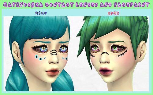 Sims 4 anime hair mod