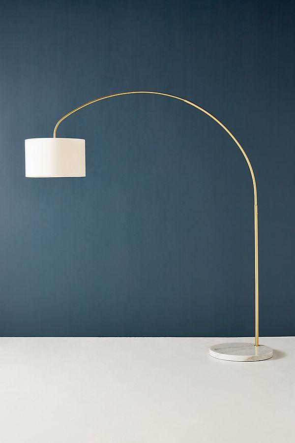 Brass Arch Floor Lamp Arched Floor Lamp Floor Lamp Modern Floor Lamps