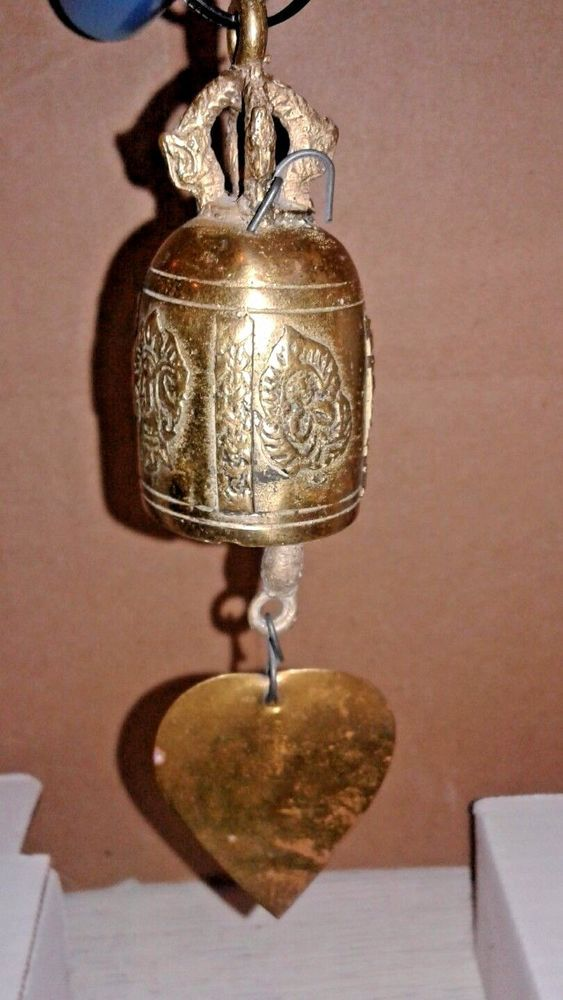 Temple Sacred Entrance Bell Buddhist / Hindu Deities Ganesha - Good Fortune
