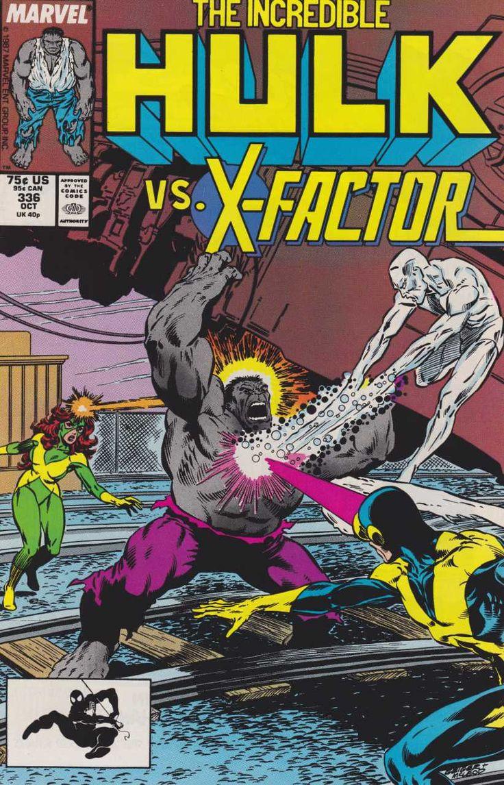 2833 best marvel comics images on pinterest comics marvel incredible hulk 336 by steve geiger bob mcleod fandeluxe Image collections