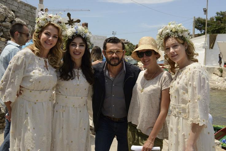 Il cast del film.#amichedamorire#movie.