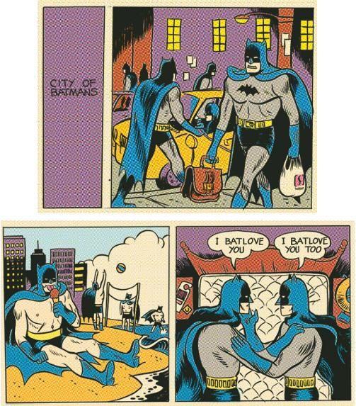 Nerd & Cult : HQ - A cidade dos Batmen